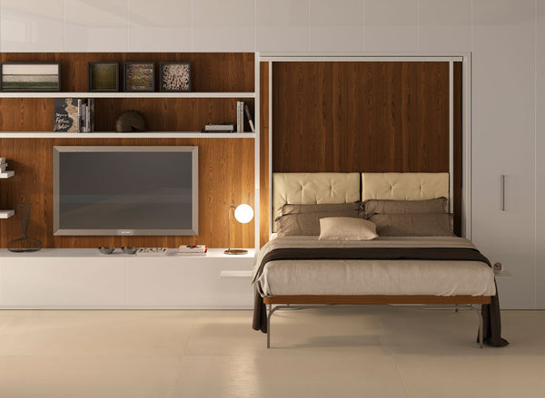 LGM rotating double wallbed patented. Clei, Italy