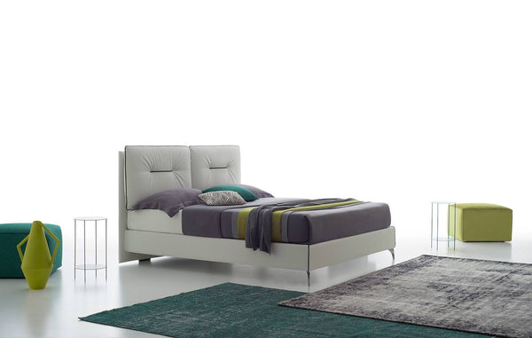 Modern Italy king size bed + 3 seater maxi sofa bed set