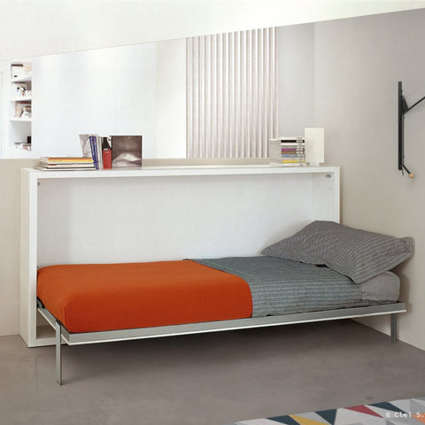 Poppi 90/120 horizontal wallbed by Clei, Italy