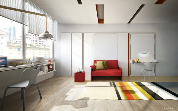 Altea Sofa 90/120 wallbed, Clei, Italy