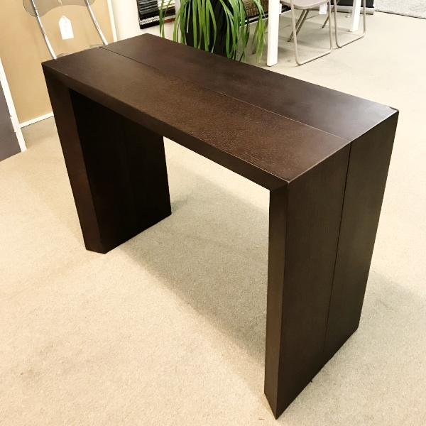 LUCKY dark oak extendable console table by Easy-Line.it