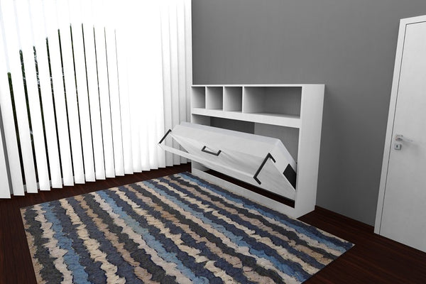 Floor model horizontal opening wallbed