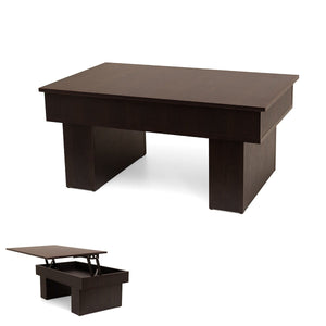 Practic transformable sofa table to working desk