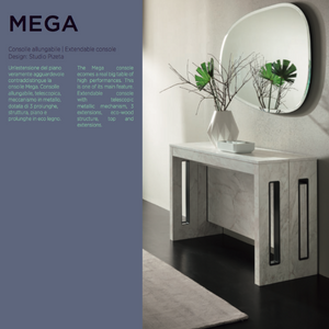 MEGA 120 cm wide extendable console by Easy-Line.it