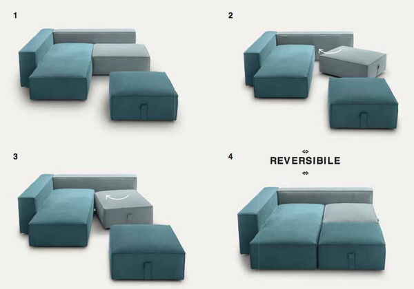 Modular sofa BUBBLE by felis.it