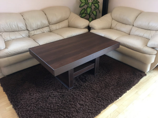 COMBO coffee-dining table with variable height and size [EN]