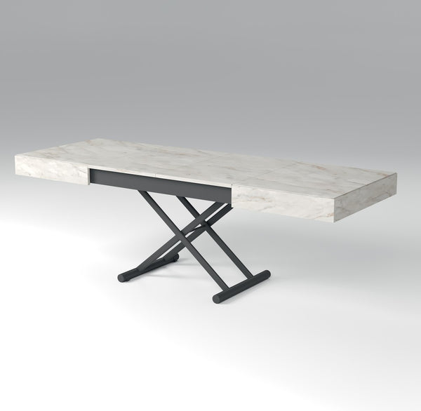 NEW COVER transformable table with extendable top by Easy-Line.it [EN]