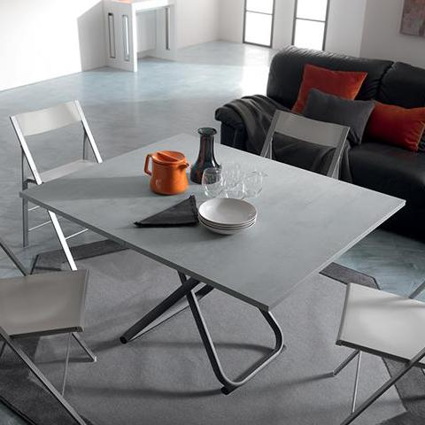 SECOND transformable table with folding top by Easy-Line.it [EN]