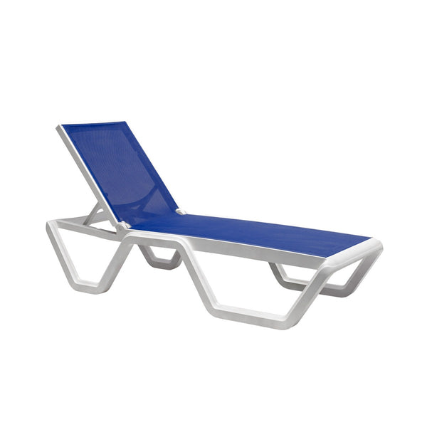 VELA sun bed, stackable 20 pcs