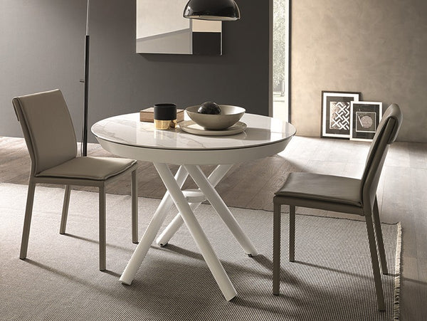 Helios round transforming coffee table by Altacom Italia