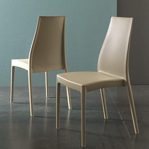 Fabia stackable indoor/outdoor chair by Altacom Italia