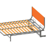 Headboard for ERGOBED wallbed