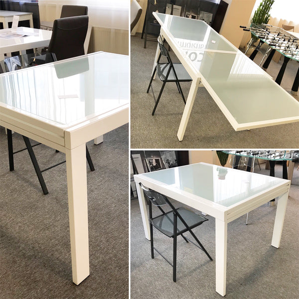 TREVISO TM 1011 extendable kitchen design table by Natisa, Italy