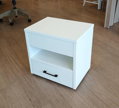 Transforming bedside table
