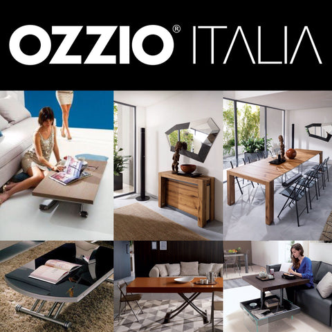 *OUTLET* OZZIO ITALIA transformable tables, chairs and sideboards [EN]