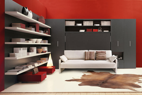 CIRCE sofa horizontal double wallbed. Clei, Italy [EN]
