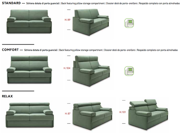 Bob sofa / corner sofa bed by felis.it Day & Night collection