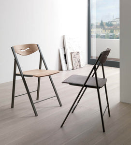 RIPIEGO outdoor/indoor chair/barstool by Ozzio Italia