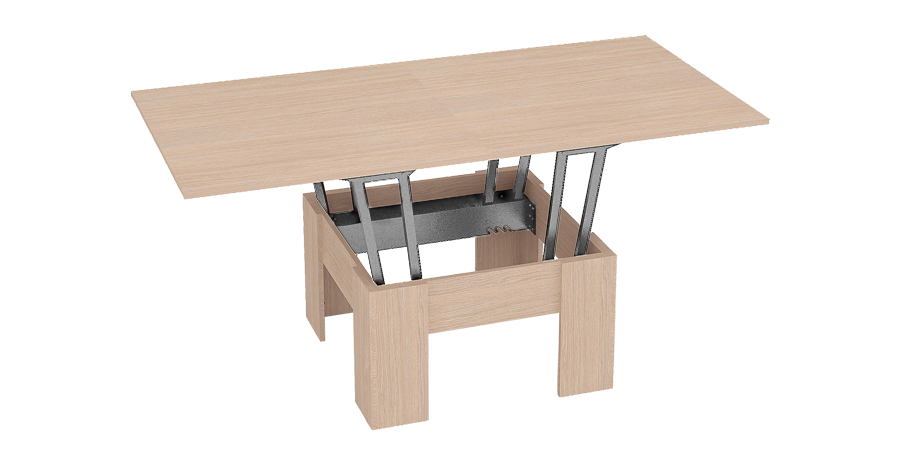 Sietle - transformable coffee and dining table in one, Russia [EN]