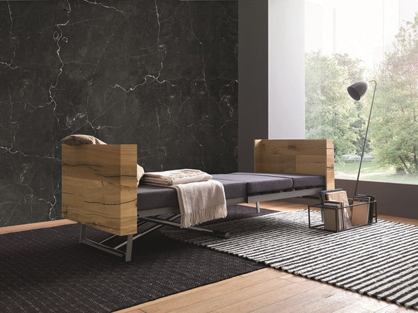 Tavoletto coffee table with variable height and bed in one by Altacom Italia