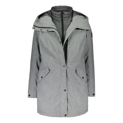 Raiski Marbakka Womens Outdoor Jacket Grey
