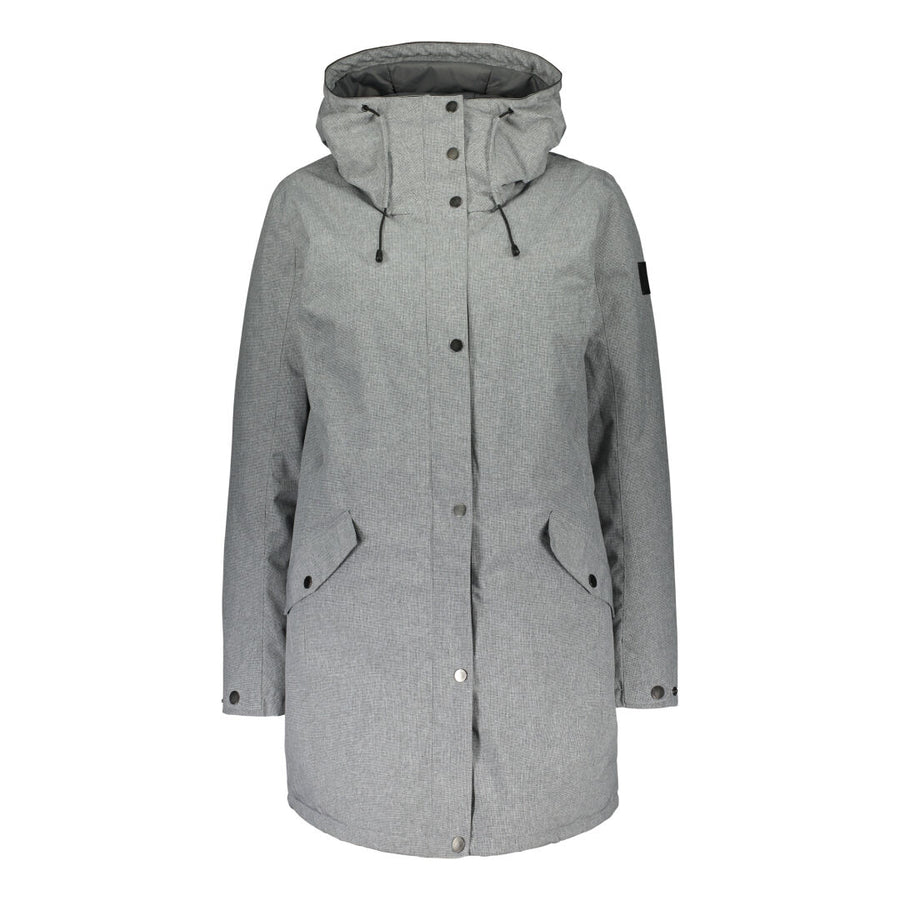 Raiski Marbakka Womens Outdoor Jacket Dark Grey
