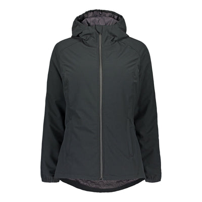 Raiski Edlev Warm Outdoor Jacket for Plus Size Women Black