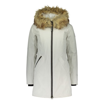 Raiski Sorla Womens Parka Jacket White