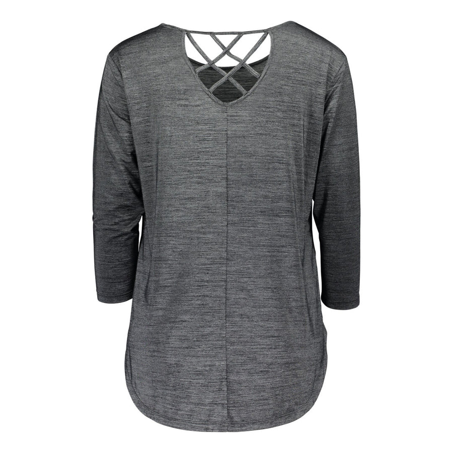Raiski Huldur Women's Top Dark Grey