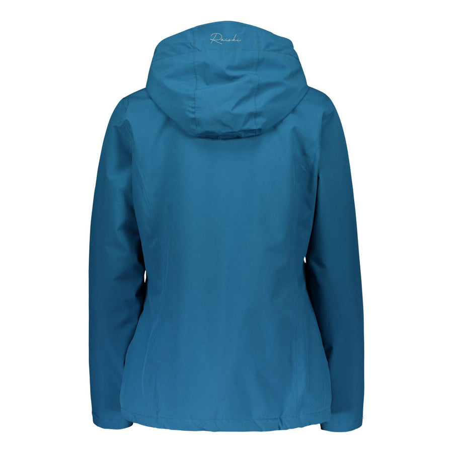 Raiski Akrasel Women's Ski Jacket For Plus Size Women Blue