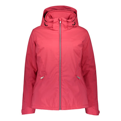 Raiski Fjalla Women's Ski Jacket For Plus Size Women Red