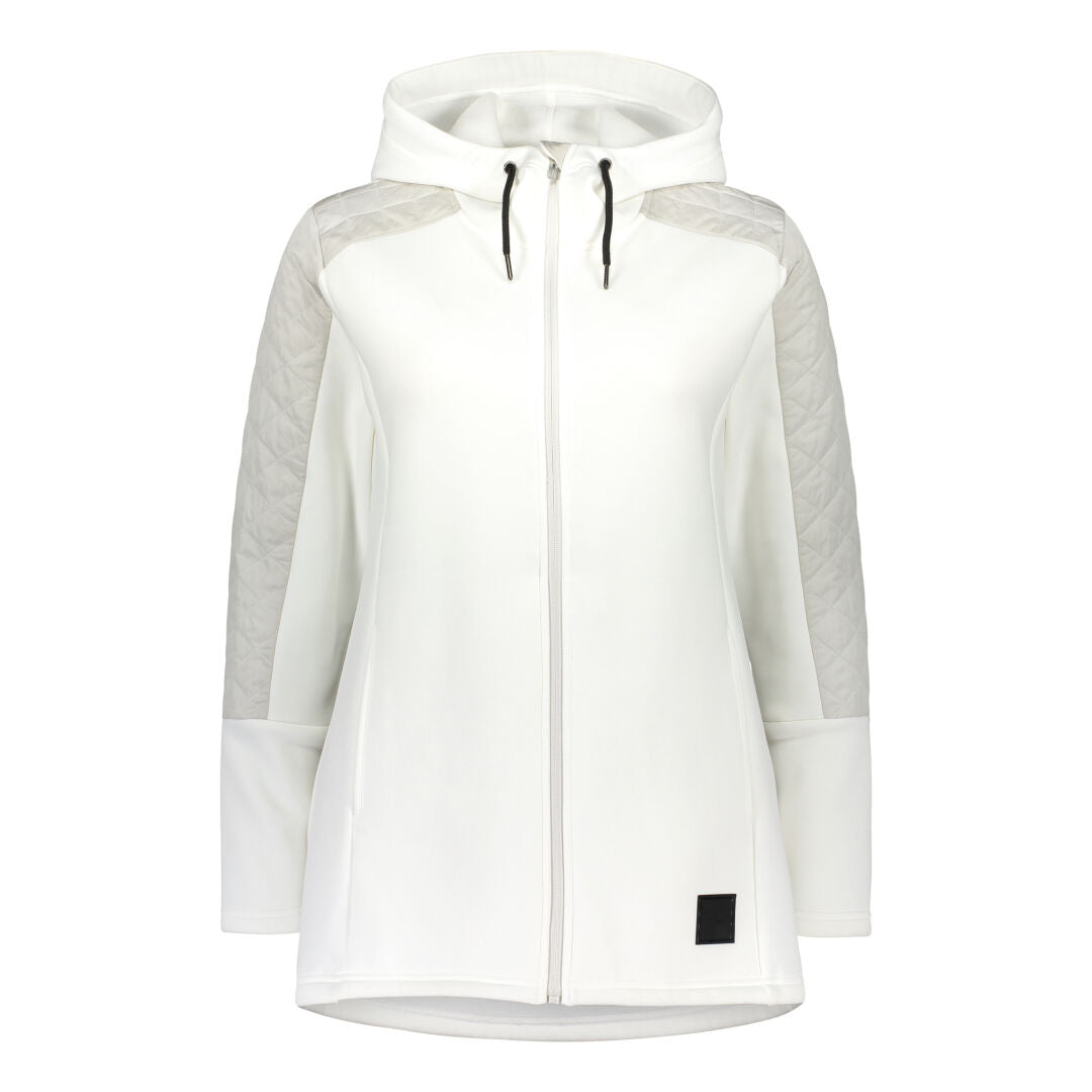 Raiski Women's Mid Layer Jacket white