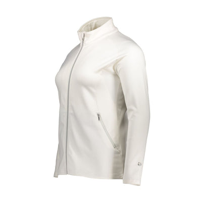 Raiski Lynette R+ white spring jacket for plus size women