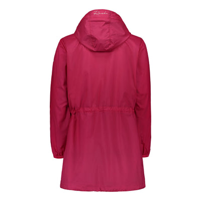 Raiski Michiko women's wind breaker jacket red
