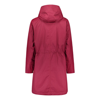 Halti Vuono Women's Red Parka Jacket