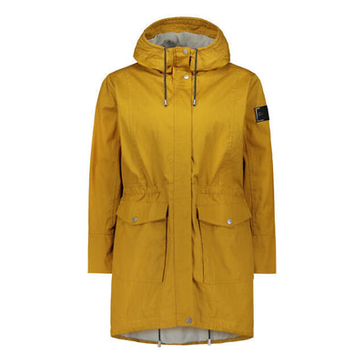 Raiski Vuono Women's Parka Jacket Yellow