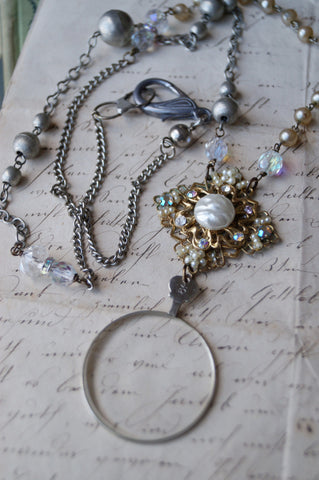 Vintage Monocle Necklace