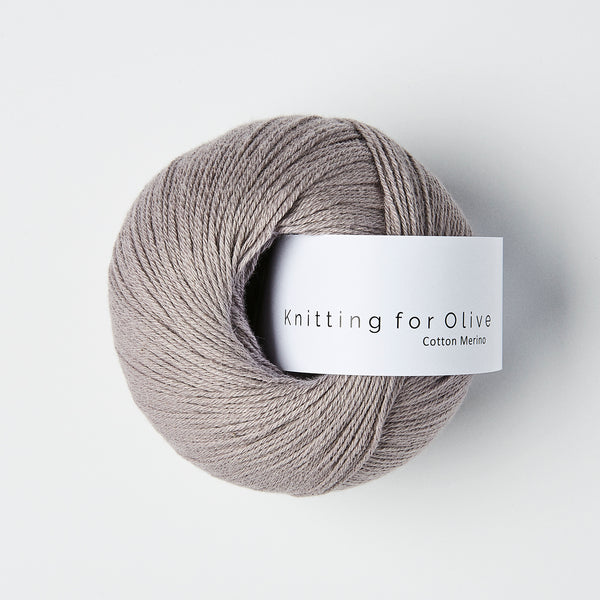 Knitting for Olive Cotton Merino - Lilla Elefant