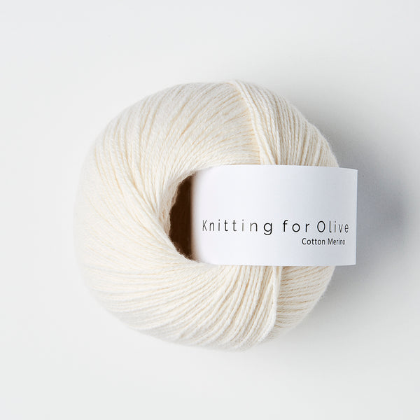Knitting for Olive Cotton Merino - Naturhvid