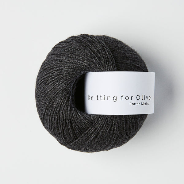 Knitting for Olive Cotton Merino - Skifergrå
