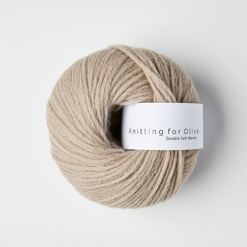 Knitting for Olive Double Soft Merino - Havregryn