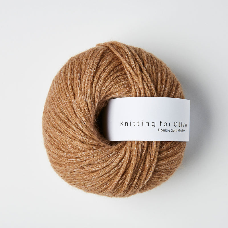 Knitting for Olive Double Soft Merino - Lys Cognac