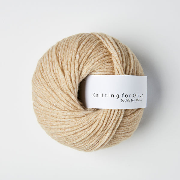 Knitting for Olive Double Soft Merino - Sand