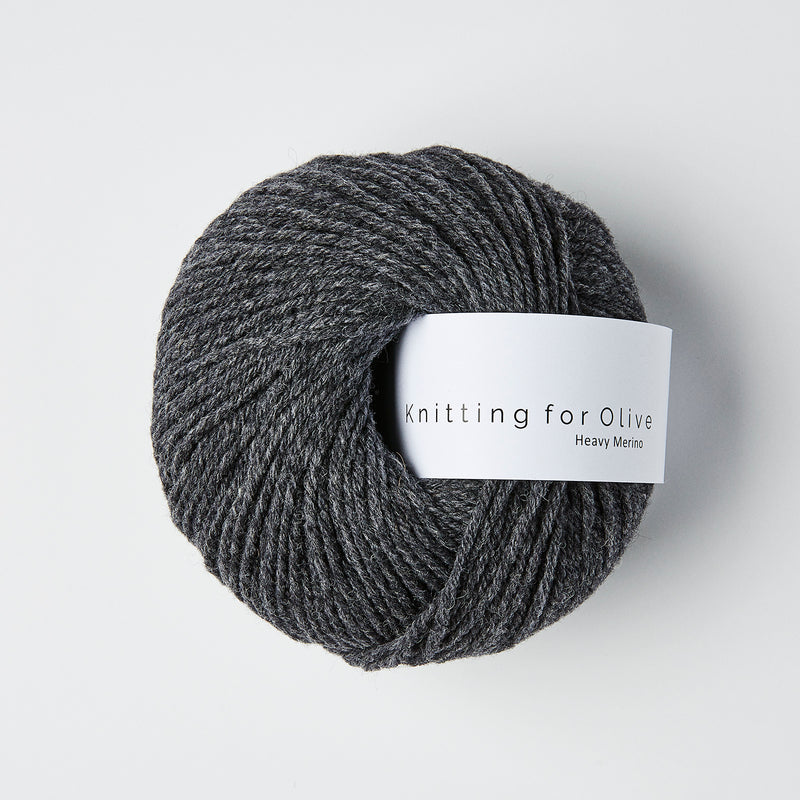 Knitting for Olive HEAVY Merino - Skifergrå