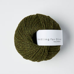 Knitting for Olive HEAVY Merino - Skifergrøn