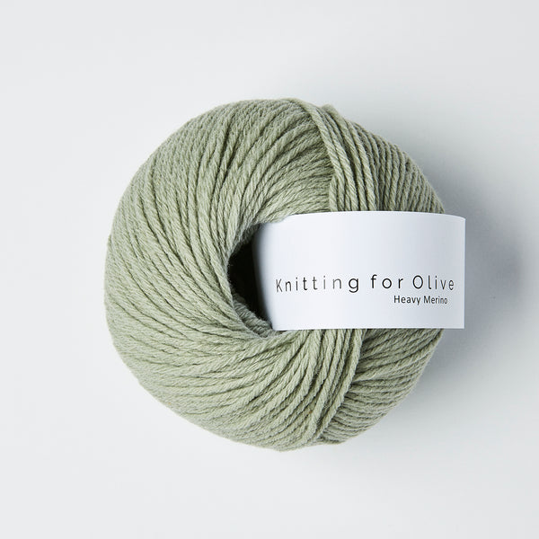 Knitting for Olive HEAVY Merino - Støvet Artiskok