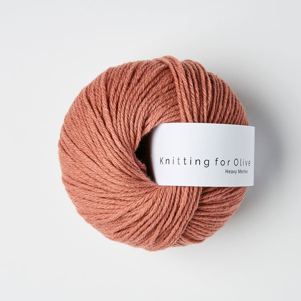 Knitting for Olive HEAVY Merino -  Terracotta Rosa
