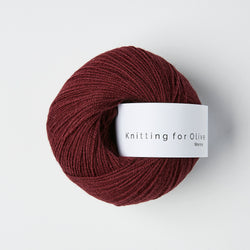 Knitting for Olive Merino - Bordeaux