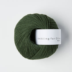 Knitting for Olive Merino - Flaskegrøn