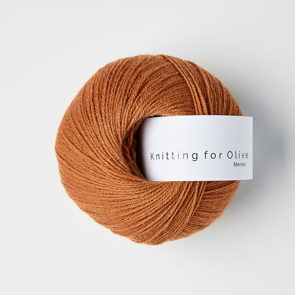 Knitting for Olive Merino - Kobber